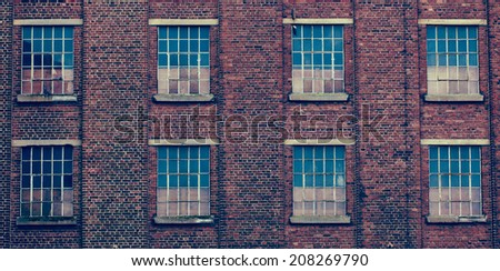 Abandoned industrial facility - stock photo