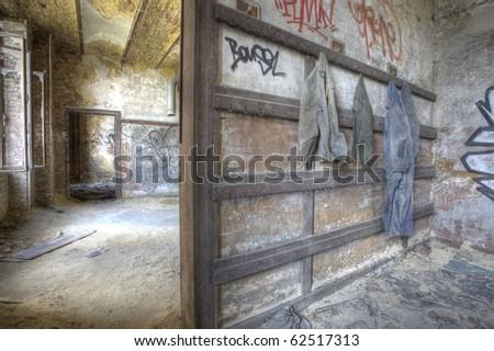 Abandoned Industry - stock photo