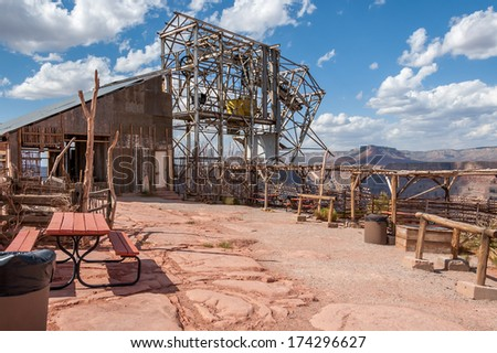 Abandoned mine at Guano Point, Grand Canyon