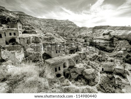 abandoned village in turkey