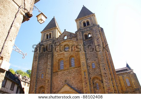 Abbey Church of St. Foy, Conques, France
