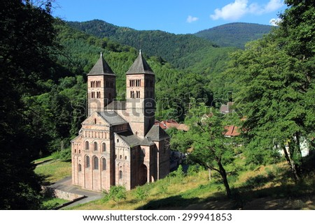 Abbey of Murbach, Alsace