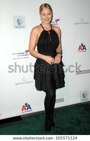 Abbie Cornish at the US-Ireland Alliance Pre Academy Awards Gala. Ebell Club, Los Angeles, CA. 02-19-09 - stock photo