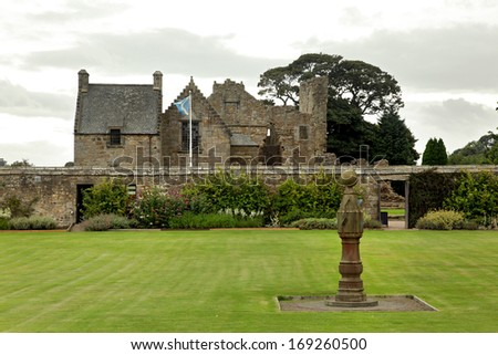 Aberdour Castle and Gardens, Fife