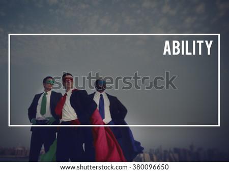 Ability Accomplishment Achievement Ability Concept - stock photo