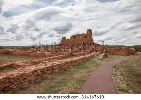 Abo Ruins - stock photo