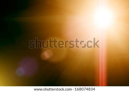 Abstact light - stock photo