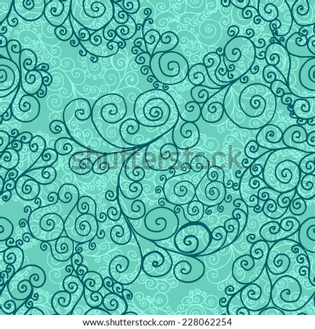 abstracract vintage blue seamless background