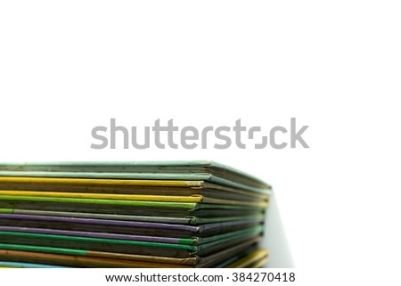 abstract a book - stock photo