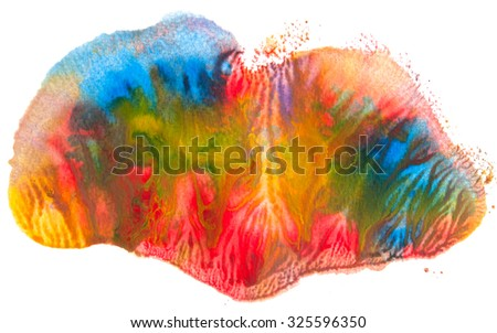 Abstract acrylic color background