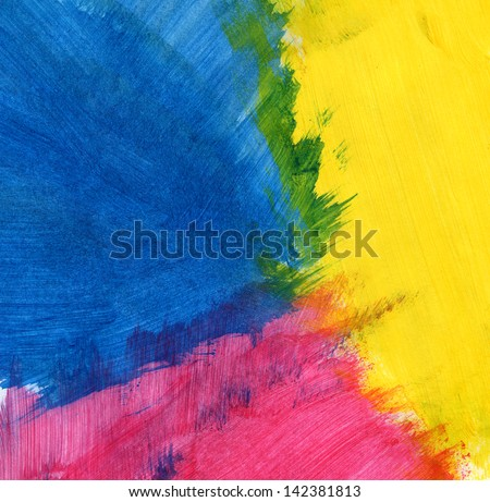 Abstract acrylic paint background with texture