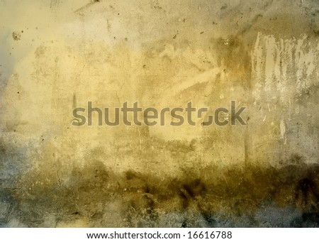 Abstract and grunge digital paint background textured