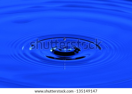 abstract, aqua, background, blue, bubble, calm, circle, closeup, cold, dew, drink, drop, droplet, fresh, freshness, purity, raindrop,blue, relax, ripple, shape, smooth, splash, surface, water, wave