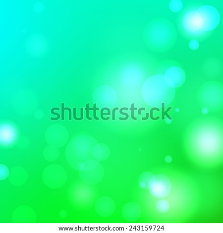 Abstract aqua background with spots - stock photo