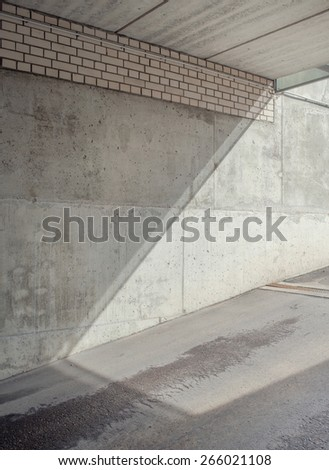 Abstract architectural shapes. Urban background.  - stock photo