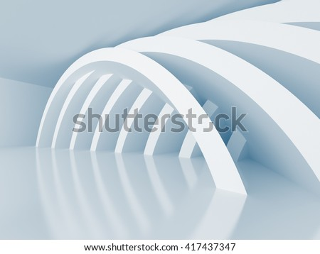 Abstract Architecture Construction Wallpaper Background. 3d render illustration
