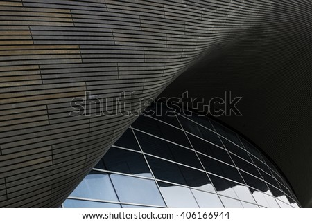 Abstract Architecture Curve - stock photo