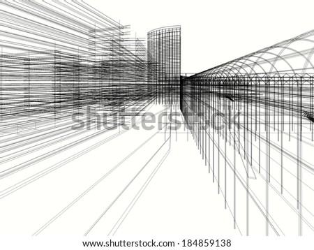 abstract architecture design wallpaper