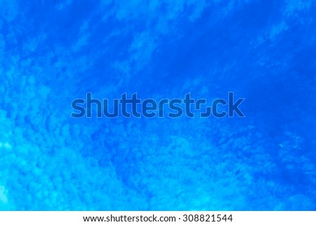 Abstract art background inspired by clouds