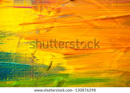 Abstract art backgrounds. Hand-painted background - stock photo