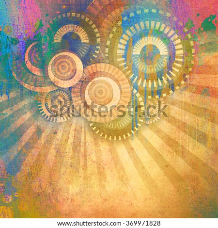 abstract art creative background - stock photo