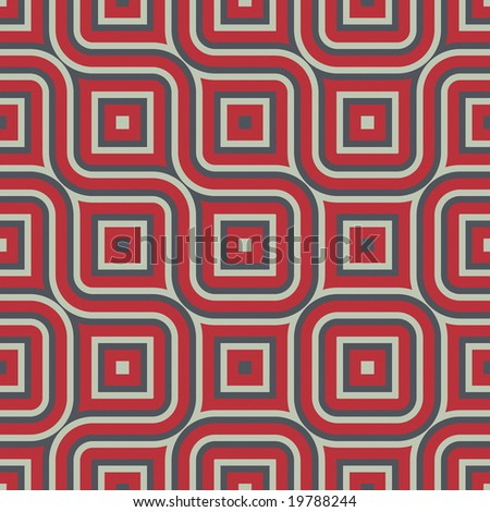 abstract art using a blend of shapes and colors that can be seamlessly tiled - stock photo