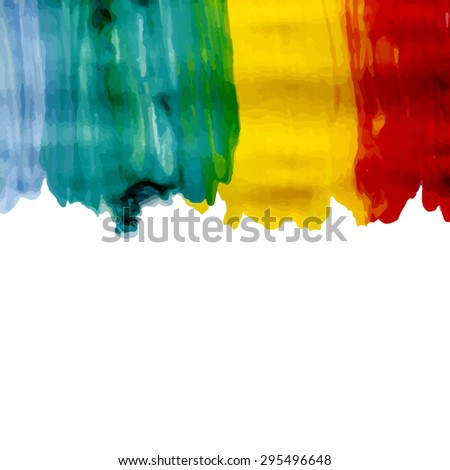 Abstract artistic Background, spots of paint
