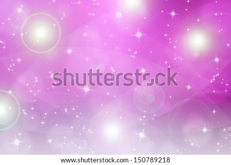 abstract backgroud with magic flare and glittering star