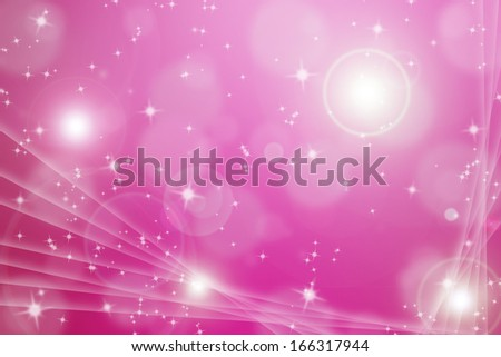 abstract backgroud with magic flare and glittering star with light