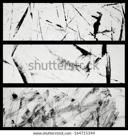 Abstract background . Abstract banners. Set. - stock photo