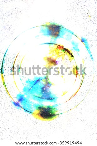 Abstract background and color effect, color background.