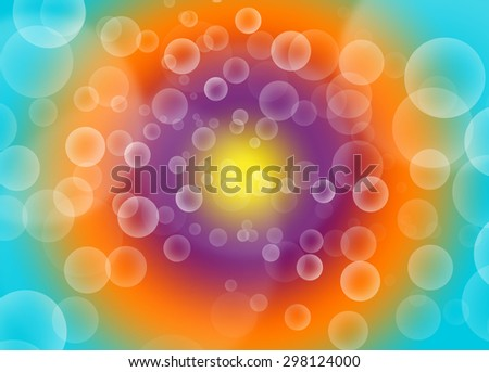 Abstract Background and Colorful bokeh - stock photo