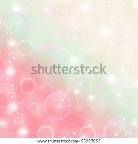 abstract  background Beautiful Bokeh