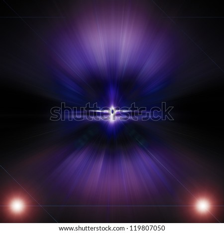 Abstract background, Beautiful rays of light.