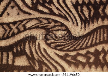 Abstract background black and white fabric - stock photo