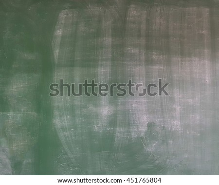 Abstract background blank grungy green chalkboard, blackboard texture in classroom of elementary,primary school, university , college  with copy space - stock photo