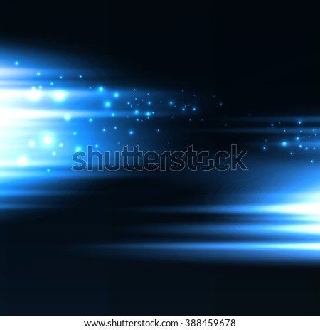 Abstract background blue blurred light. For website design - stock photo