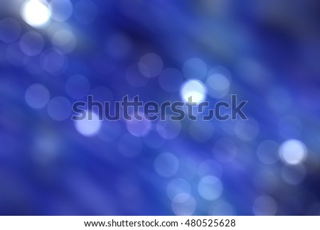 abstract background blue bokeh circles. Beautiful background with particles. illustration beautiful.