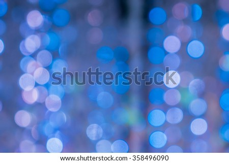 abstract background blue bokeh circles for background