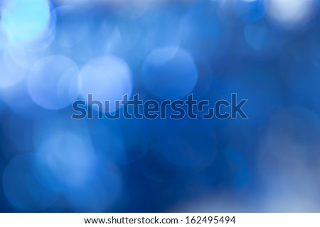 abstract background blue bokeh. texture - stock photo