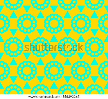 Abstract background. Blue geometric seamless pattern in modern stylish. raster copy seamless pattern