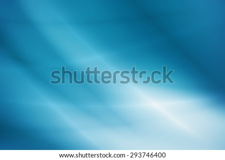 abstract background, blue light effect - stock photo