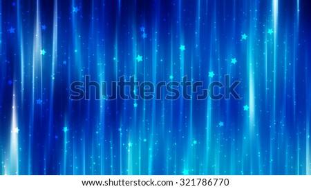 abstract background. blue shiny background - stock photo