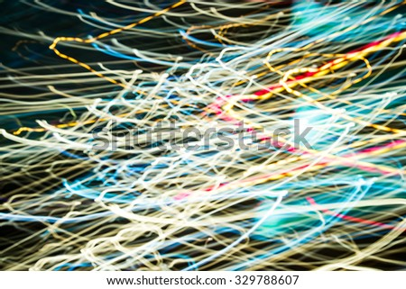 Abstract background blurred lights and shadow
