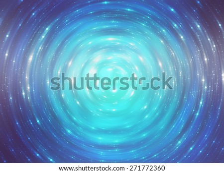 abstract background. brilliant blue circles for background