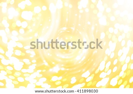 Abstract background. Brilliant golg circles for background - stock photo