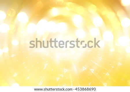 Abstract background. Brilliant golg circles for background