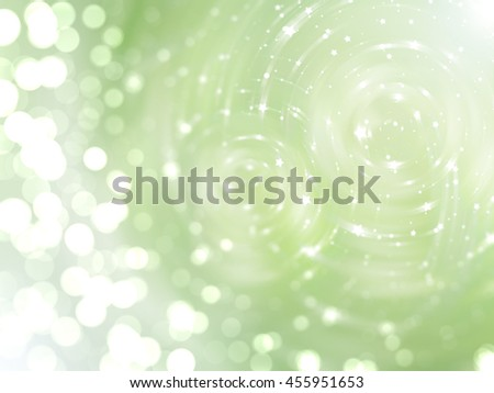 abstract background. brilliant green circles for background