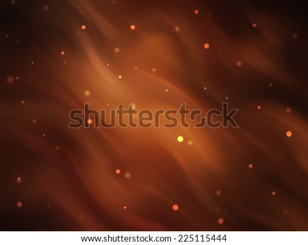abstract background. brown background with waves and stars - stock photo