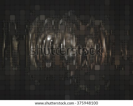 abstract background. brown mosaic